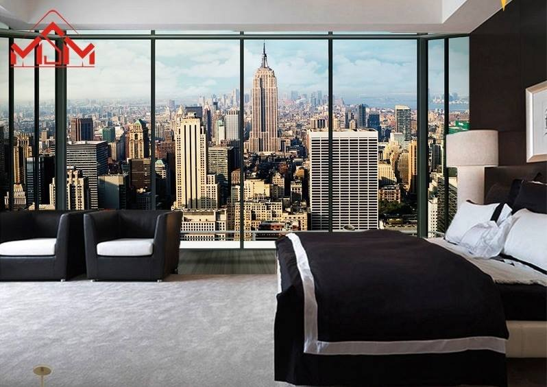 Merveilleux 3D Wallpaper Bedroom Mural Roll Modern