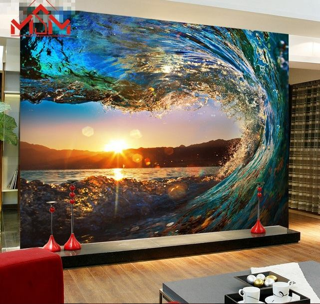 Gentil 3D Wallpaper Bedroom Mural Roll Luxury Modern